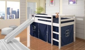 DONCO KIDS Twin Tent Loft Bed review