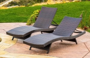 Lakeport Outdoor Adjustable Chaise Lounge Chair review